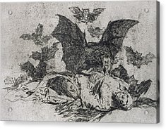 The Consequences Acrylic Print by Goya