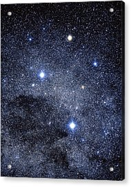 The Constellation Of The Southern Cross Acrylic Print by Luke Dodd