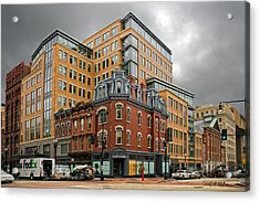 The Corner Acrylic Print by Christopher Holmes