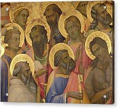 The Coronation Of The Virgin Acrylic Print by Lorenzo Monaco