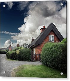 The Cottage Acrylic Print by Ian David Soar
