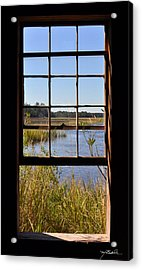 The Cotton Dock Acrylic Print by Melissa Wyatt