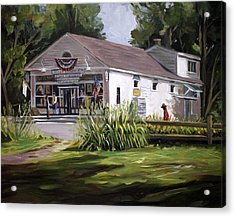 The Country Store Acrylic Print by Nancy Griswold