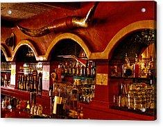 The Cowboy Club Bar In Sedona Arizona Acrylic Print by David Patterson