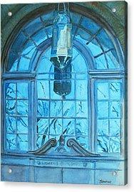 The Craftsmen Lantern Acrylic Print by Jenny Armitage