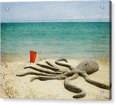 The Creature Acrylic Print by Juli Scalzi