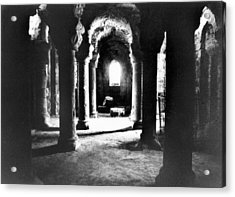 The Crypt Acrylic Print by Simon Marsden