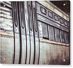 The Cta Train Acrylic Print by Lisa Russo