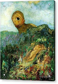 The Cyclops Acrylic Print by Pg Reproductions