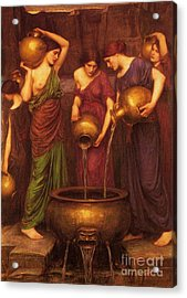 The Danaides Acrylic Print by Pg Reproductions