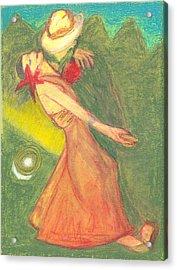 The Dance Acrylic Print by Moneca AtleyLoring