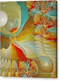 The Dance Of Life Acrylic Print by Gayle Odsather