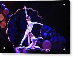 The Dance Acrylic Print by Randy Matthews