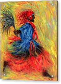 The Dancer Acrylic Print by Tilly Willis