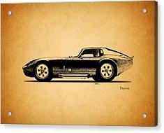 The Daytona 1965 Acrylic Print by Mark Rogan