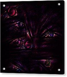 The Deceiver Acrylic Print by Rachel Christine Nowicki