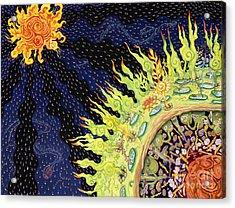 The Deep Acrylic Print by Shoshanah Dubiner