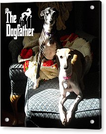 The Dogfather Acrylic Print by Ray LeCara Jr