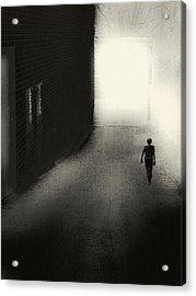 The Door Acrylic Print by Melissa D Johnston