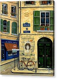 The Doors Acrylic Print by Marilyn Dunlap