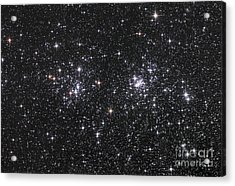 The Double Cluster, Ngc 884 And Ngc 869 Acrylic Print by Robert Gendler