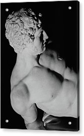 The Dying Gladiator Acrylic Print by Pierre Julien