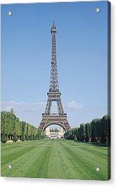 The Eiffel Tower Acrylic Print by French School