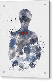 The Eleventh Doctor Acrylic Print by Rebecca Jenkins