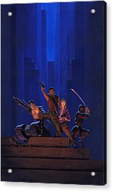The Eliminators Acrylic Print by Richard Hescox
