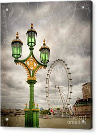 The Eye Is The Lamp Of The Body Acrylic Print by Donald Davis