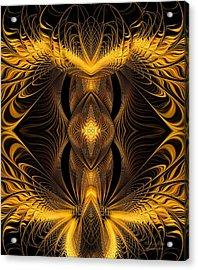 The Eye Of Eden Acrylic Print by Gayle O