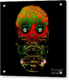 The Face Of Man Acrylic Print by David Lee Thompson