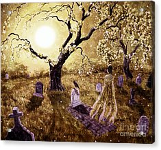 The Fading Memory Of Lenore Acrylic Print by Laura Iverson