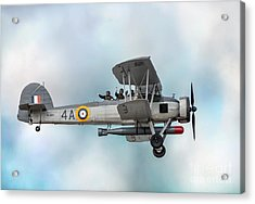 The Fairey Swordfish Acrylic Print by Adrian Evans