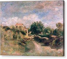The Farm Acrylic Print by Renoir