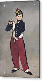 The Fifer Acrylic Print by Edouard Manet