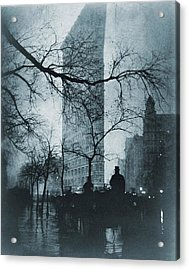The Flatiron Building, New York City Acrylic Print by Everett