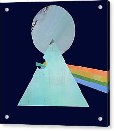 The Floyd's Dark Side Acrylic Print by Jacquie Gouveia
