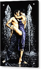 The Fountain Of Tango Acrylic Print by Richard Young