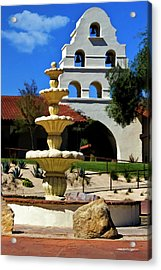 The Fountain Acrylic Print by Patricia Stalter