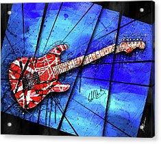 The Frankenstrat Vii Acrylic Print by Gary Bodnar