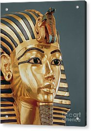 The Funerary Mask Of Tutankhamun Acrylic Print by Unknown
