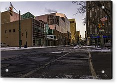 The Galleries Of Syracuse Acrylic Print by Everet Regal