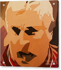 The General- Bobby Knight Acrylic Print by Steven Dopka