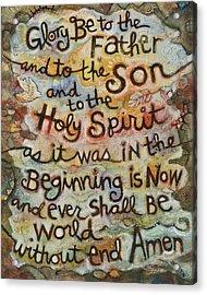 The Glory Be Acrylic Print by Jen Norton