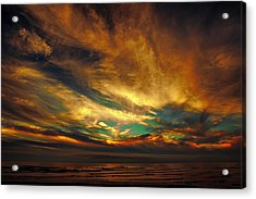 The Glory Acrylic Print by James Heckt