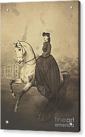 The Grand Duchess Alexandra Acrylic Print by MotionAge Designs