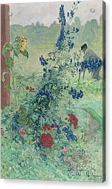 The Grandfather Acrylic Print by Carl Larsson