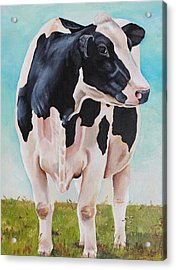 The Grass Is Always Greener Acrylic Print by Laura Carey