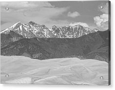 The Great Colorado Sand Dunes  Acrylic Print by James BO  Insogna